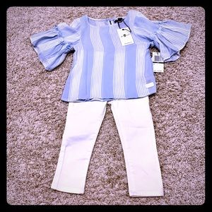 (7 for all Mankind) Toddler Girl Outfit